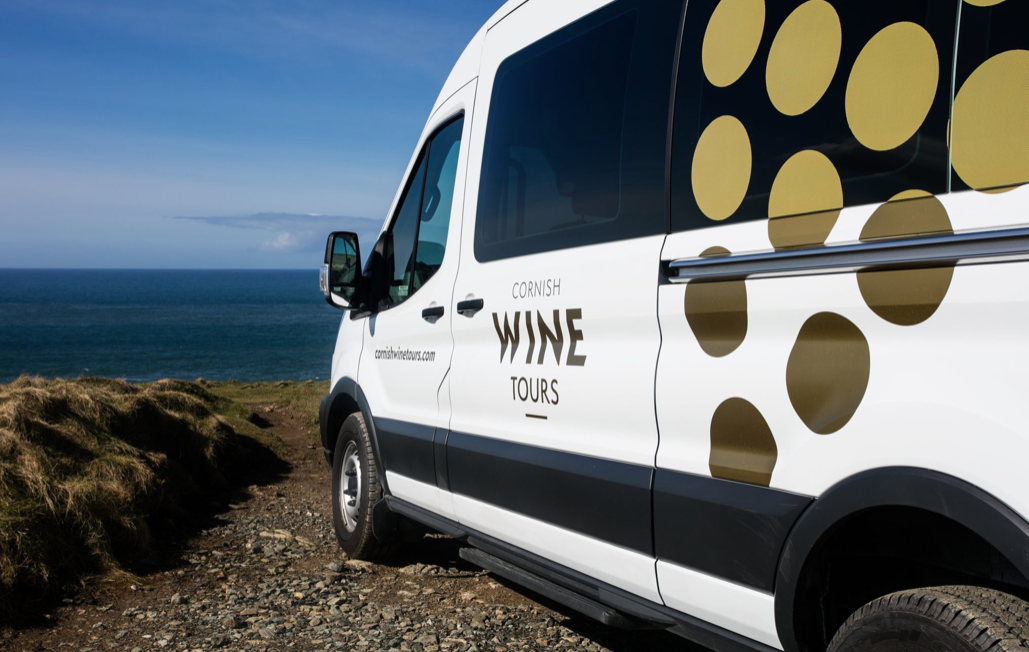 Cornish Wine Tours Bus